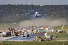 Quick-Start im Lockdown: STRABAG sanierte Start- und Landebahn am Stuttgarter Flughafen in Rekordzeit