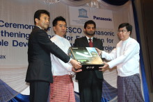 UNESCO and Panasonic Launch Educational Support Programs for the Next Generation in Off-Grid Communities in Myanmar