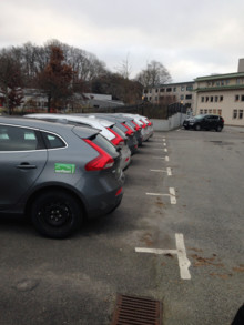 Det ökande bilpoolandet i Stockholms län bidrar till ett positiv miljöpåverkan