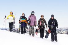 Stort intresse för alpin skidåkning – Antalet skidåkare i Hammarbybacken ökade med nära 50 % under februari