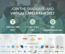 Graduateland Virtual Career Fair 2017