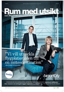 Rum med utsikt - Här är Airport City Stockholm