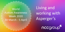 Living and working with Asperger's Syndrome