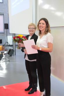 Preis des Deutschen Akademischen Austauschdienstes 2018 an Masterstudentin Florence Terryn aus Belgien
