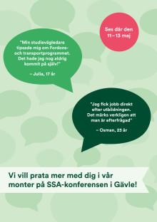 Vi ses på SSA-konferensen i Gävle!