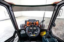 Sverigepremiär för Hitachis lilla hjullastare