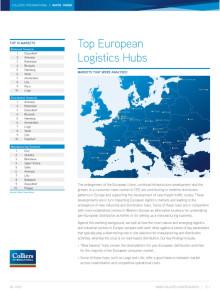 Antwerpen, Rotterdam och Düsseldorf är Europas största logistiska nav