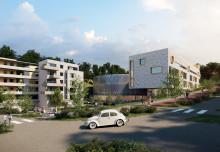 Presseinvitasjon til markering av byggestart for velodromen i Asker