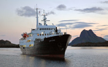 Hurtigrutens MS Lofoten blir skoleskip