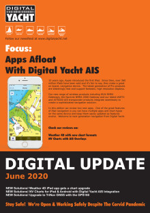 Digital Yacht Update June 2020 Edition Now Available