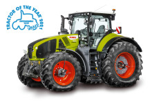 ​CLAAS AXION 960 CEMOS is Sustainable Tractor of the Year 2021