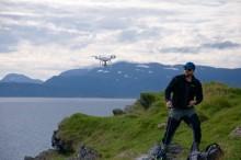 Drone til kartlegging av plastsøppel