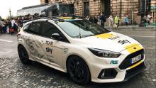 Speciální Focus RS se převlékl do žluté na oslavu dalšího triumfu Chrise Frooma a týmu Sky na Tour de France