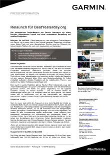 Relaunch für BeatYesterday.org
