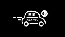 Mio lanserar drive thru för 0 kr