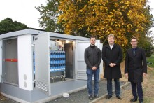 Bayernwerk gestaltet Energiezukunft – intelligente Ortsnetzstation in Rehau in Betrieb genommen