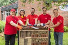 Santander Mitarbeiter ackern für den Umweltschutz