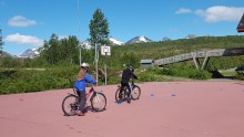 Film om sykkelopplæring ved Valnesfjord Helsesportssenter