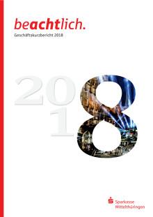 Geschäftskurzbericht 2018 der Sparkasse Mittelthüringen