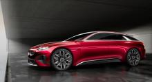 KIA præsenterer konceptbilen Proceed på biludstillingen i Frankfurt sammen med den nye Stonic, Picanto X-Line og Sorento