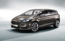 NY FORD S-MAX CONCEPT - SPORTY DESIGN OG SMART TEKNOLOGI