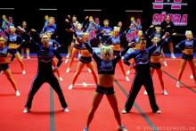 Upplev Cheerleading i världsklass den 14:e mars i Boråshallen