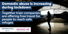 Govia Thameslink Railway offers free train travel to victims fleeing domestic abuse