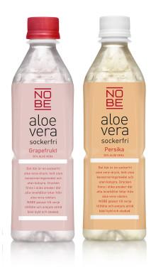 NOBE aloe vera lanserar två nya sockerfria smaker