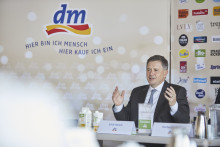 Halbjahrespressekonferenz von dm-drogerie markt