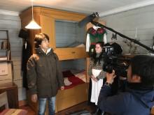 Japansk kändis spelade in tv-serie i Luleå