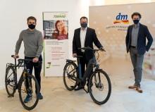 Fit und nachhaltig mit dem JobRad: dm ermöglicht Mitarbeitern Fahrradleasing