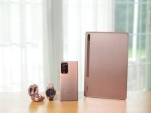 Samsungs nyheter från Galaxy Unpacked finns nu i butik