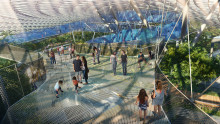 Jewel Changi Airport's Canopy Park Unveiled