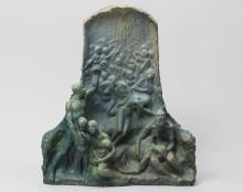 "New acquisition:  The sculpture ""Struggle for existence"" by Agnes de Frumerie"