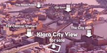 Klara City View – a property in the heart of Stockholm for sale