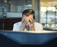 Var tredje småföretagare är rädd för att utsättas för brott