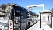 Lokal vattenkraft driver Östersunds första elbuss