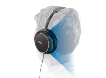 Zurücklehnen, entspannen und Musik genießen – mit den neuen Hifi-Kopfhörern von Sony