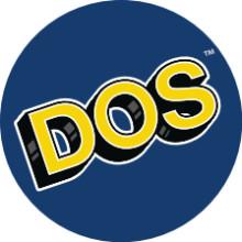 DOS® Aufkleber