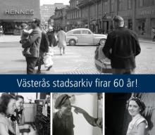 Västerås stadsarkiv – en modern 60-åring jubilerar