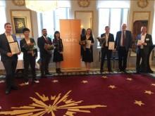 Vinnarna av SKAPA-priset och SKAPA-för unga innovatörer mottog pris i Tessinska platset