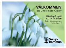 Inbjudan Direktmöte 1 april