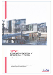BDO:s rapport om Intraservice