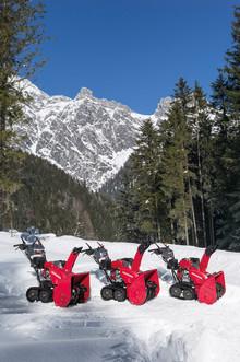 Nya lättkörda och effektiva snöslungor från Honda
