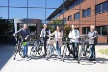 Trendthema Dienstrad - Vorausradeln mit DÄNISCHES BETTENLAGER und Bikeleasing Service GmbH