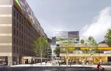 Arcona bygger handelsplan i Trygg-Hansa-huset
