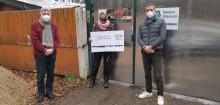 Corona setzt auch Tierschützer unter Druck: atriga spendet erneut an Wildtierhilfe Schäfer und Tierherberge Egelsbach
