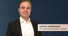 Anton sätter Växjö på SkandiaMäklarnas karta