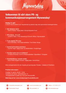 Invitasjon til Mynewsday 2015
