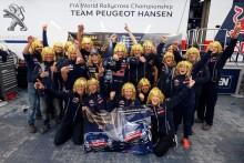 Team Peugeot Hansen körde hem VM-guldet